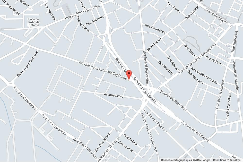 Comment venir au cabinet ? Plan googlemaps